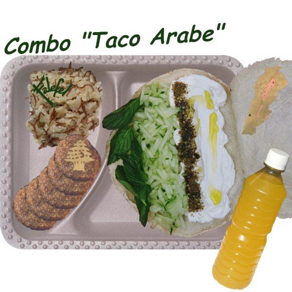 Combo Taco Arabe