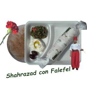 Shahrazad con Falefel